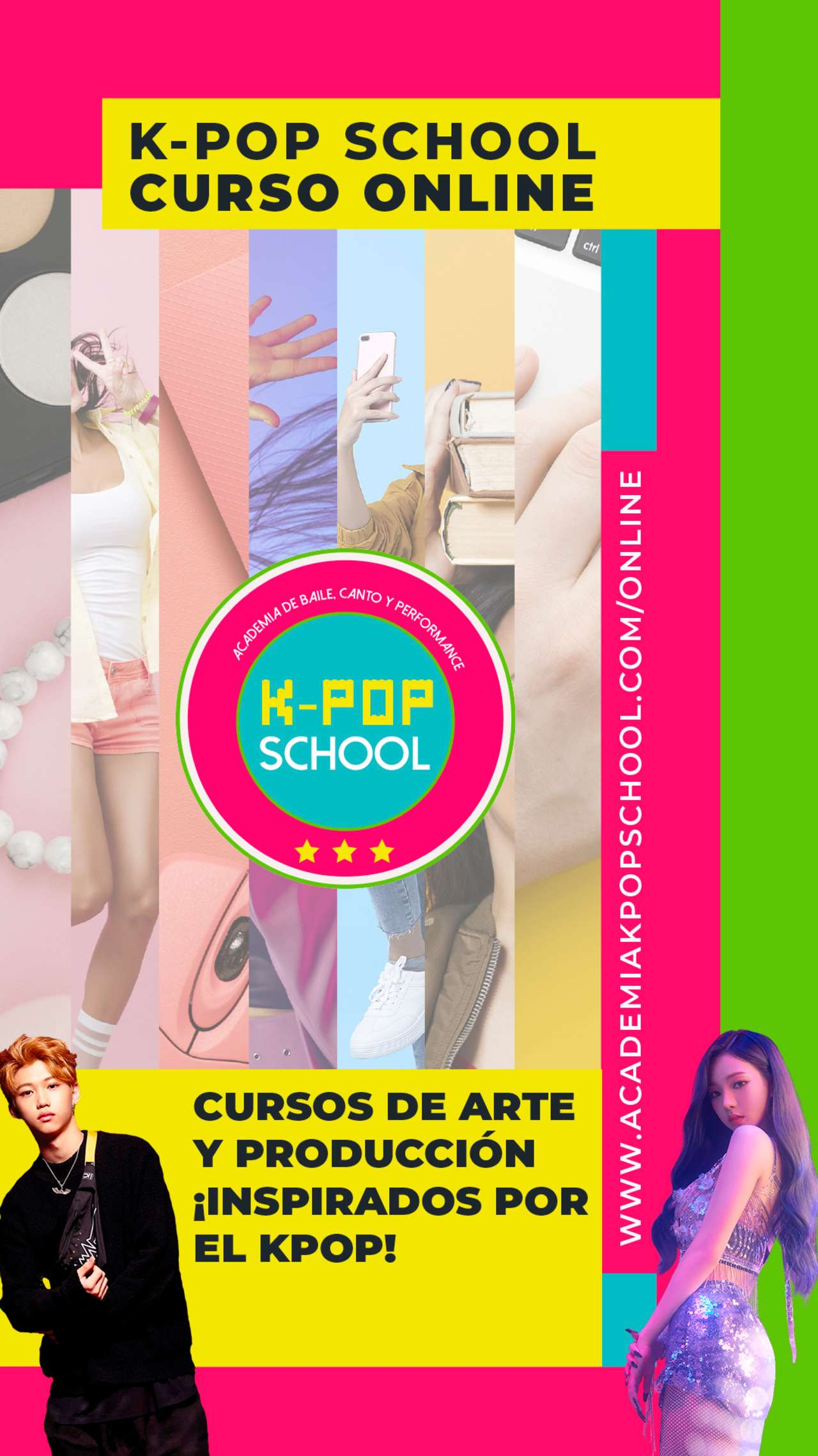 KPop School academia latinoamérica