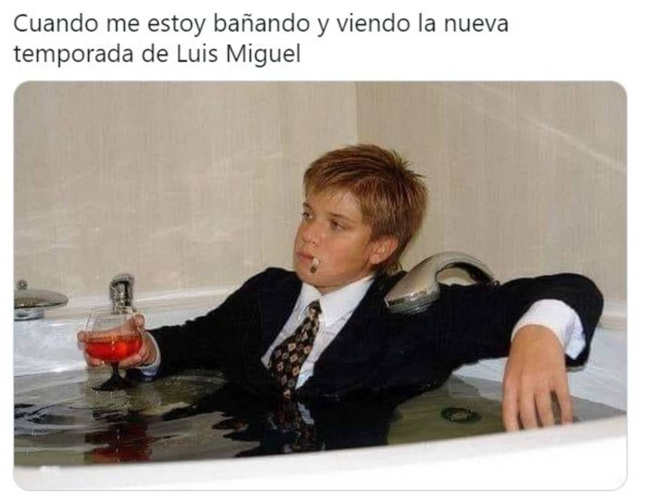 Memes Luis Miguel la serie temporada 2 Netflix