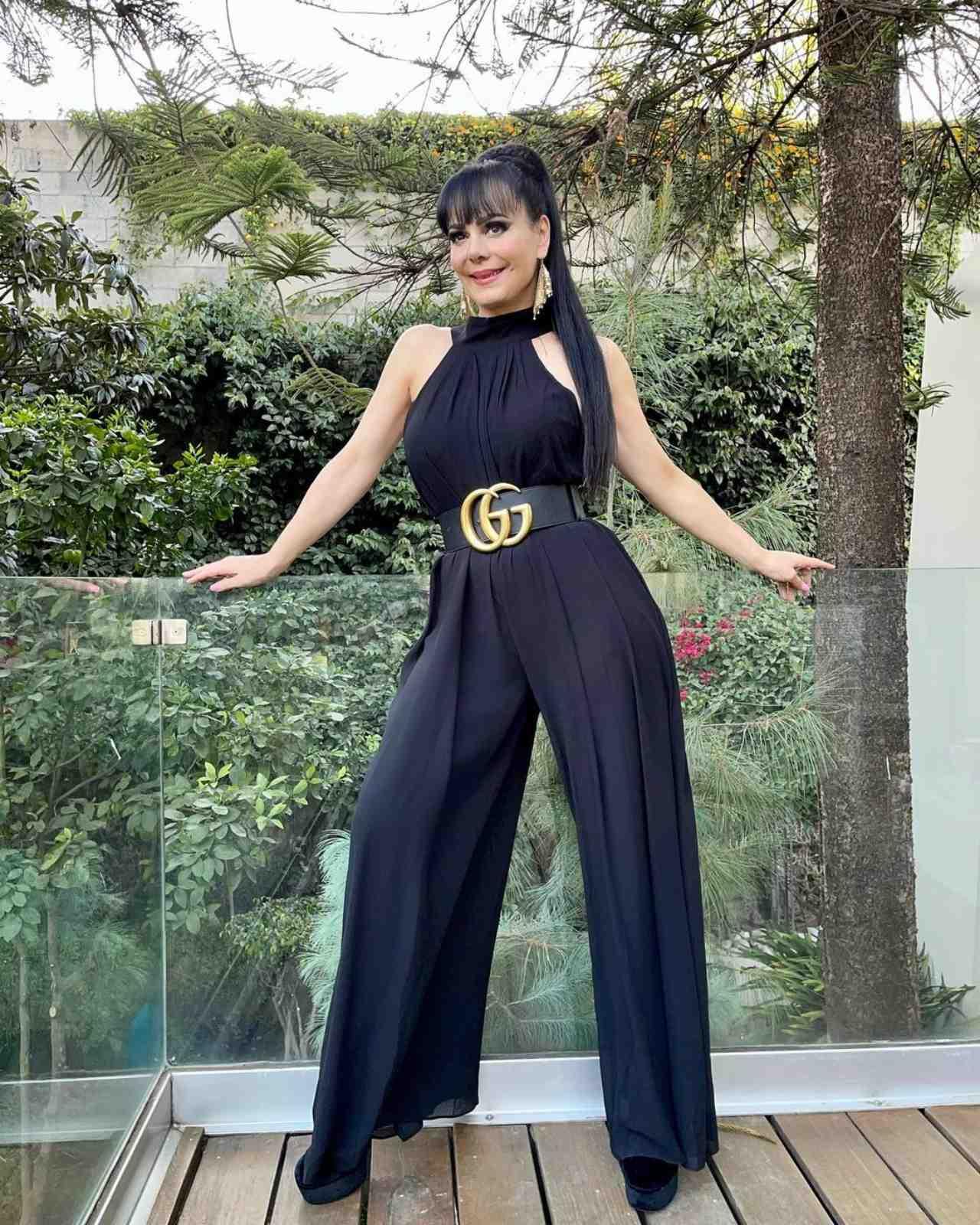 Maribel Guardia con look Gucci