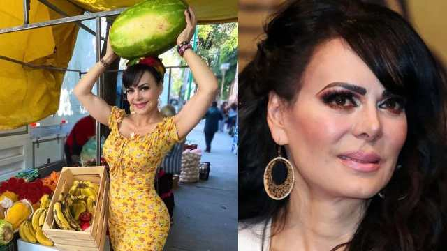 Maribel Guardia frutera la alburean