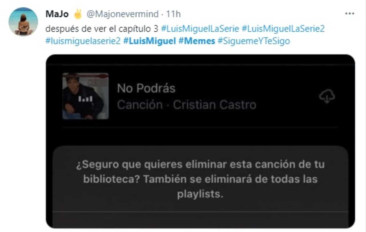 meme cristian castro spotify