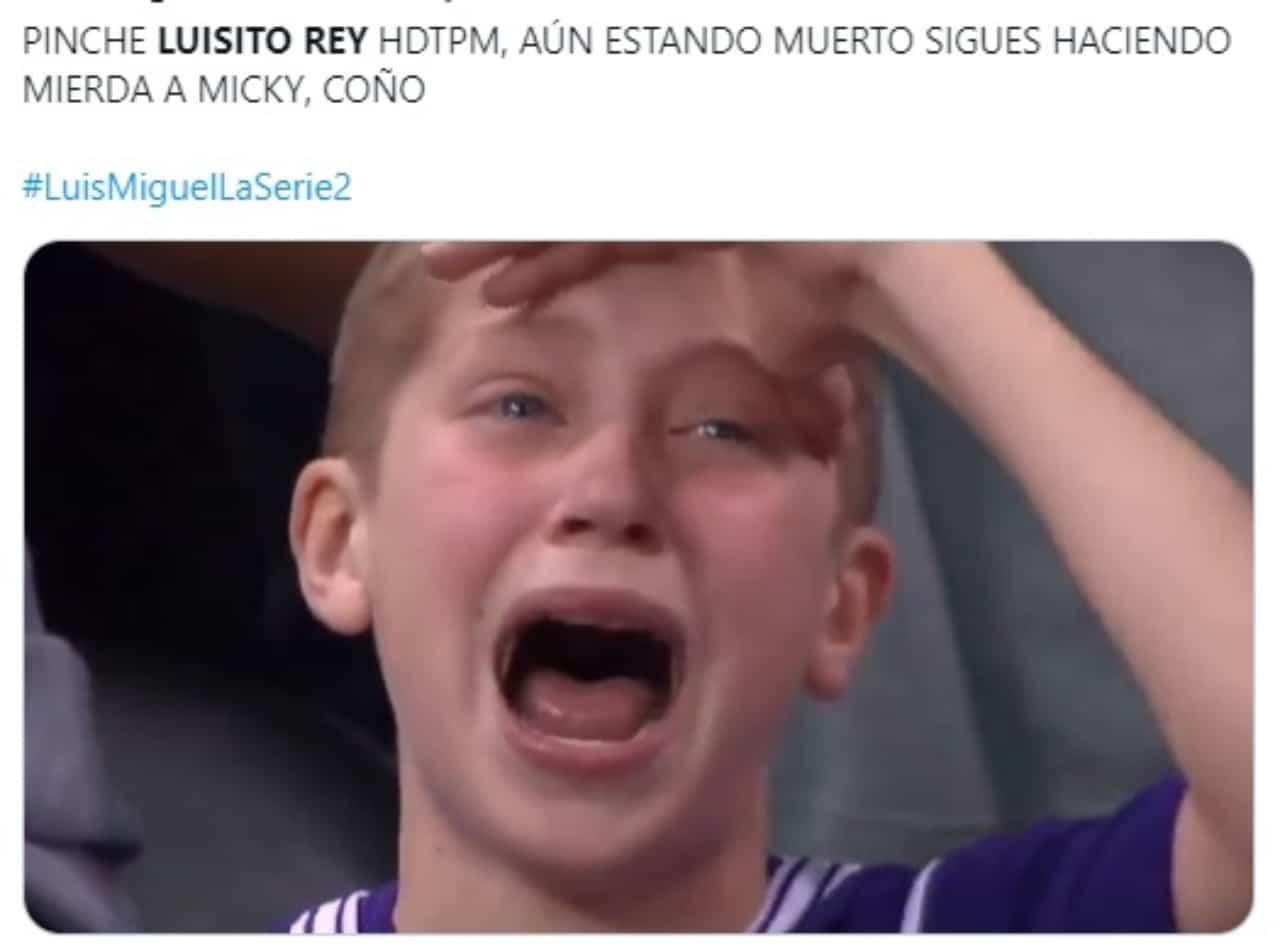 Meme Luisito Rey Luis Miguel