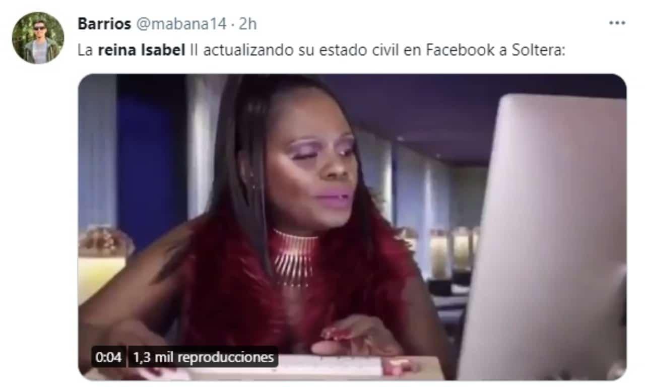 meme reina isabel cambiando soltera facebook