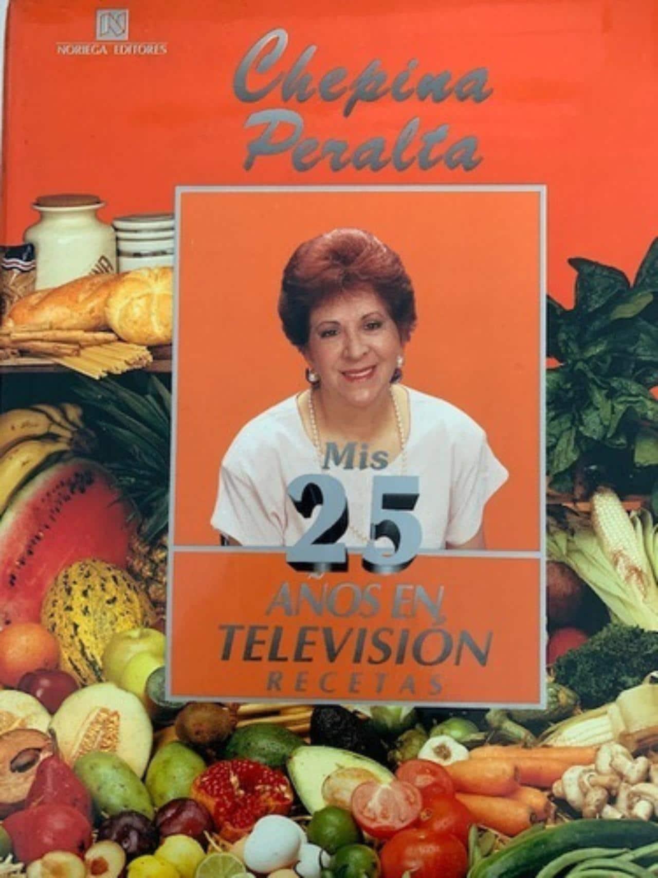 Chepina Peralta, 25 años en televisión