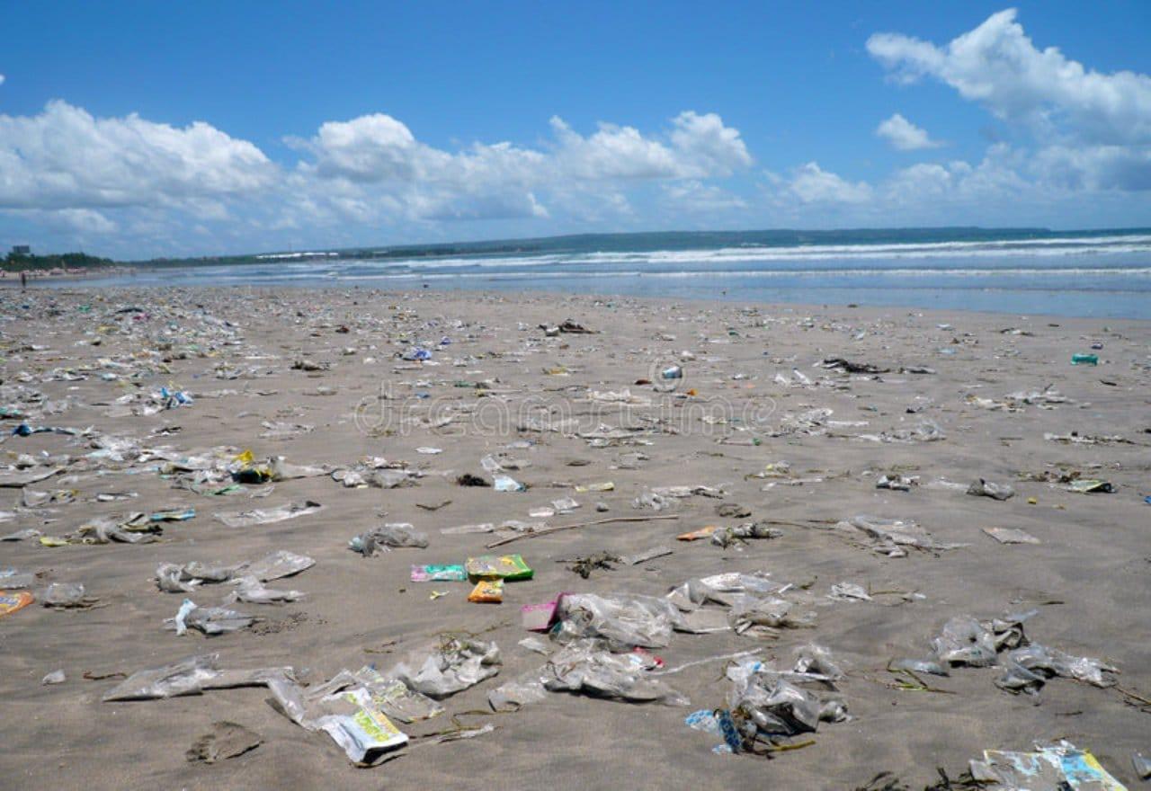 No ensucies la playa