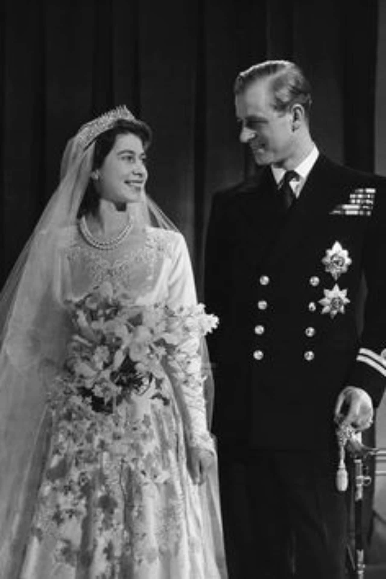 boda principe felipe y reina isabel