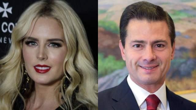 Tania Ruiz y Enrique Peña Nieto son captados en una boda