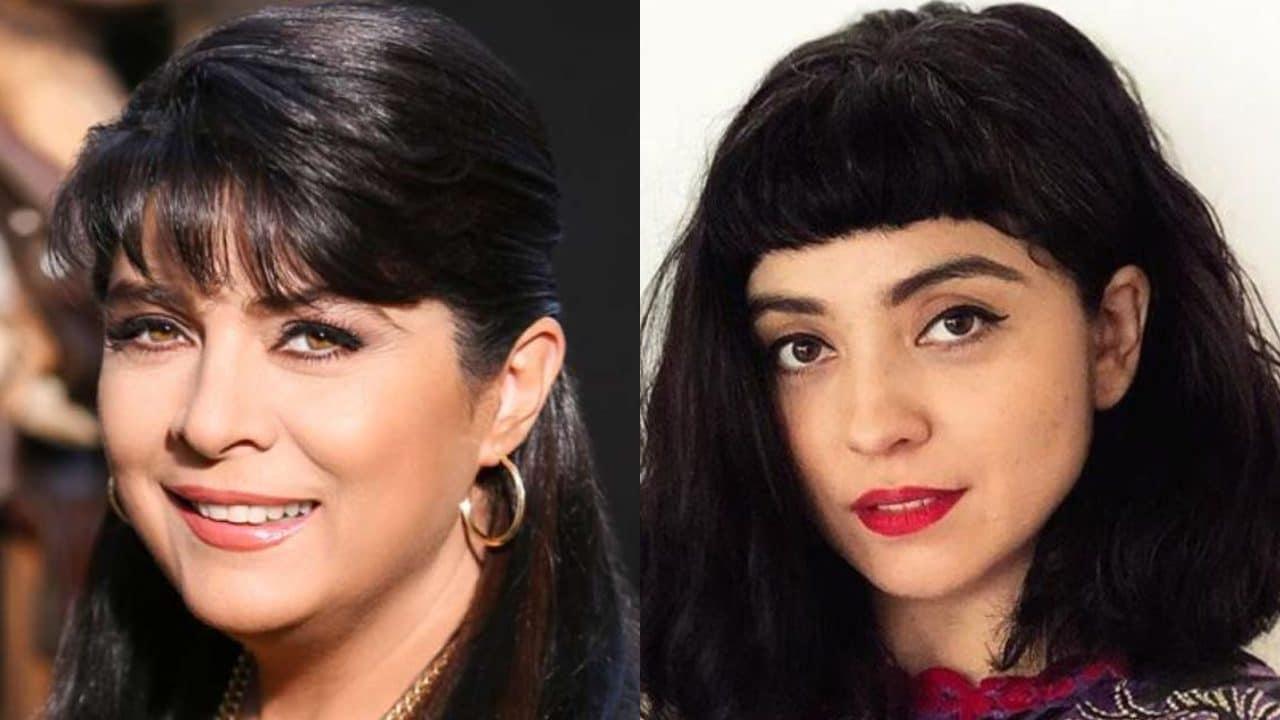 Victoria Ruffo comparte foto de joven donde luce idéntica a Mon Laferte