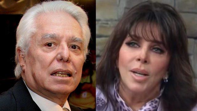 Revelan video de Enrique Guzmán tocándole el busto a Verónica Castro sin consentimiento