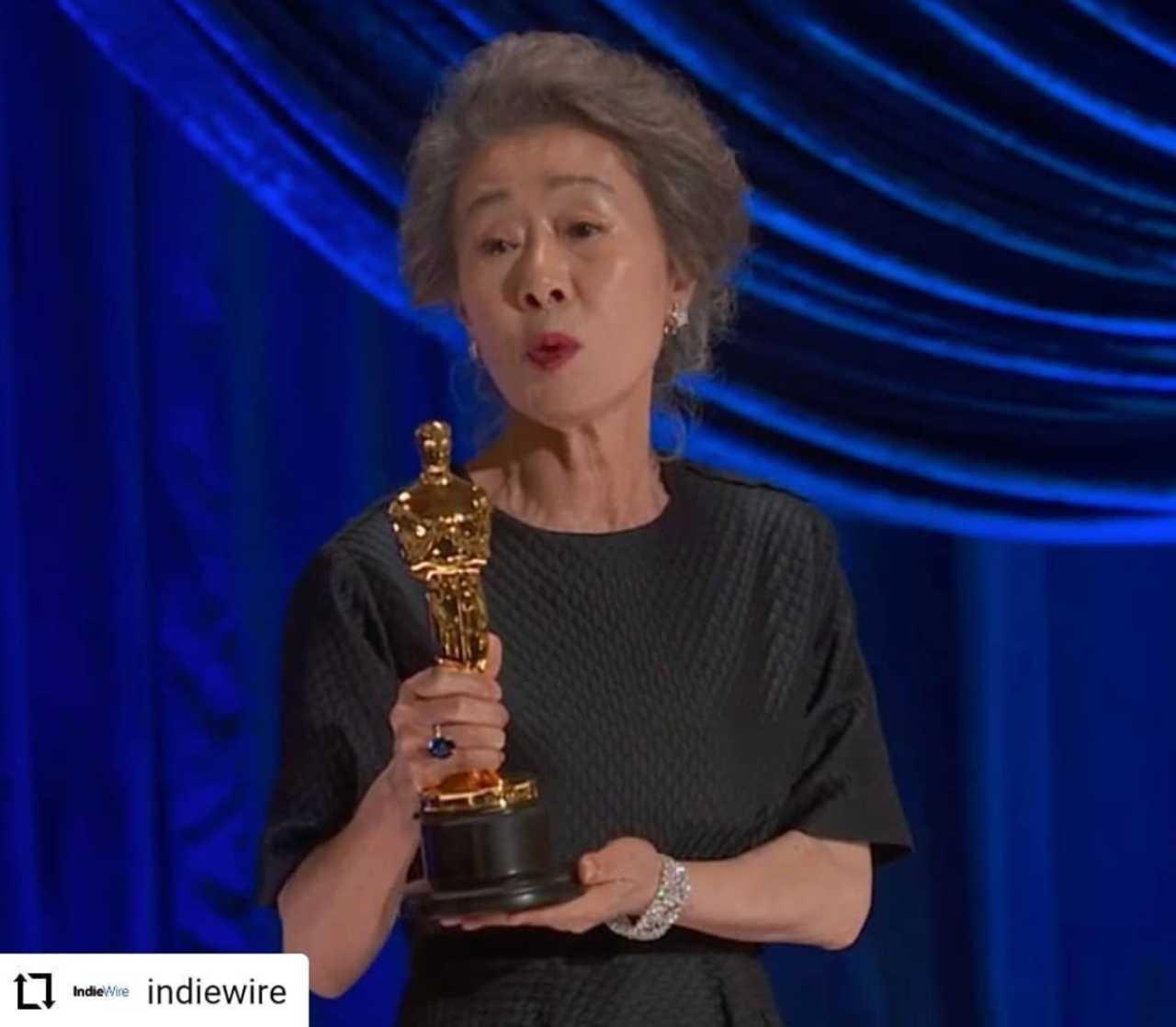 Yuh Jung Youn se llevó el premio a Mejor Actriz de reparto