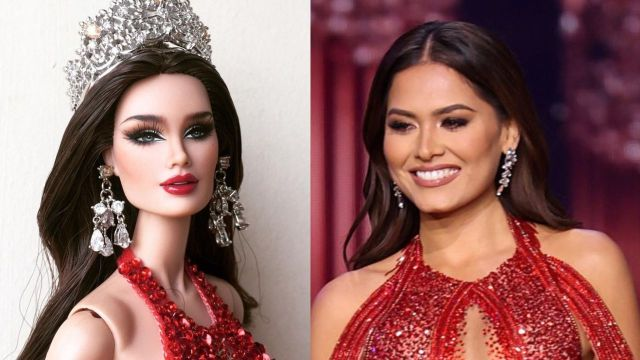 Critican la muñeca Miss Universo de Andrea Meza por ser demasiado blanca