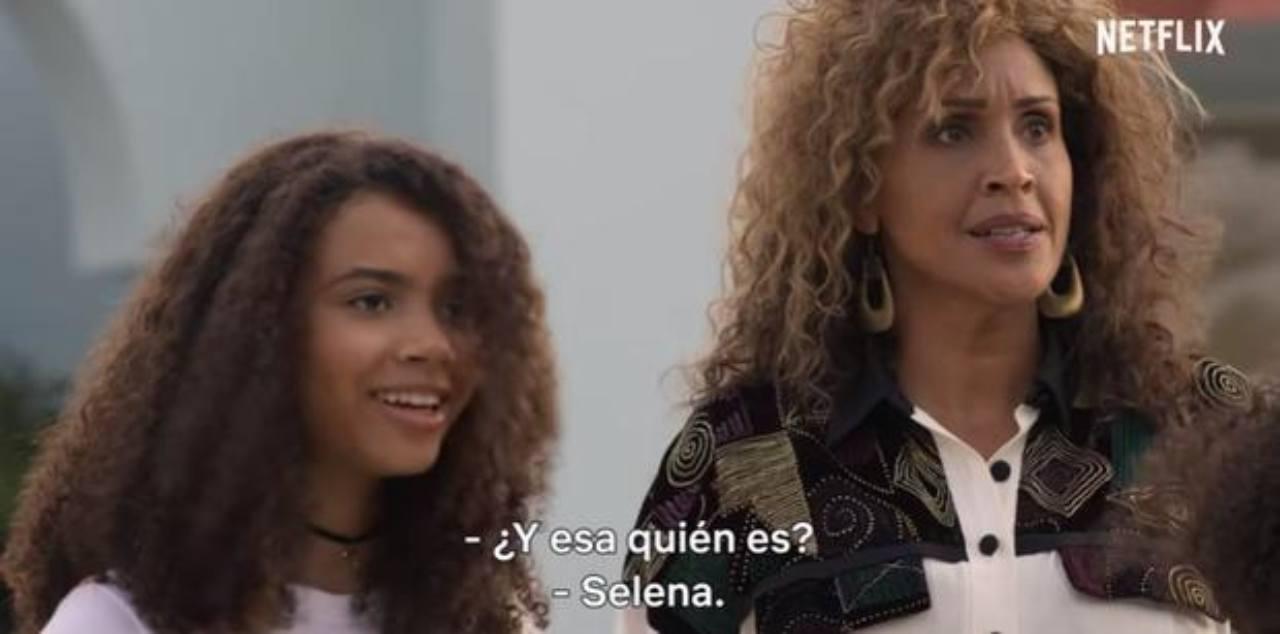 Beyoncé en la serie Selena