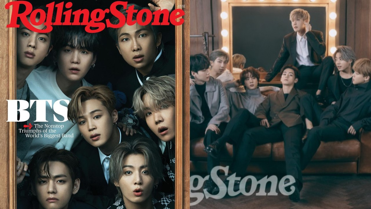 BTS en portada de Rolling Stone