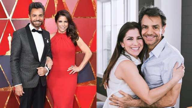 Alessandra Rosaldo y Eugenio Derbez en los oscar