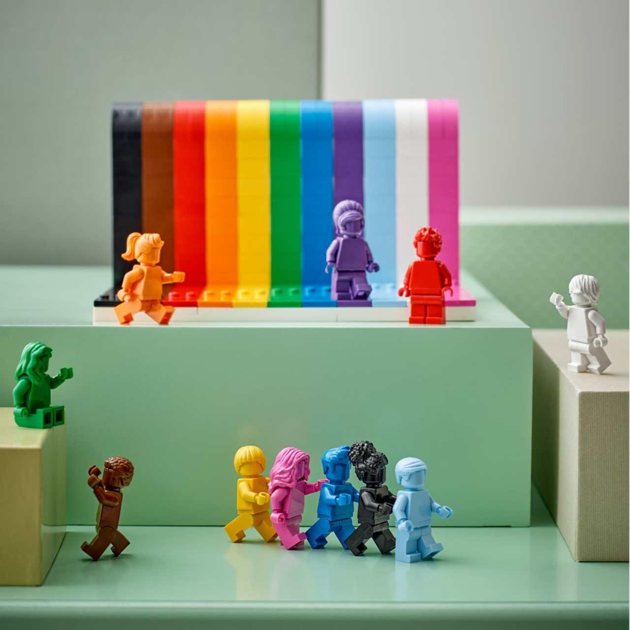 Los bloques arcoíris