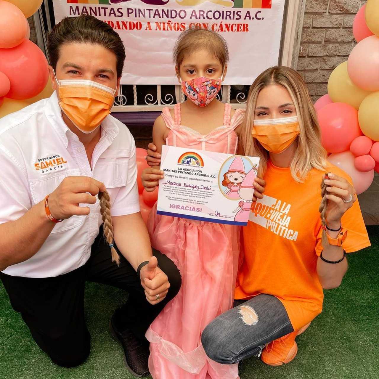 Mariana Rodríguez dona cabello críticas cortarse puntas