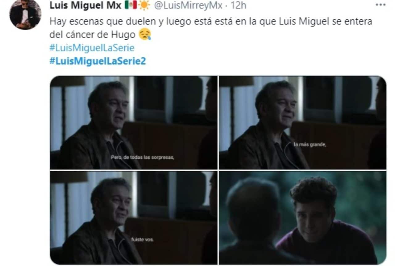 Meme escenas Luis Miguel y Hugo