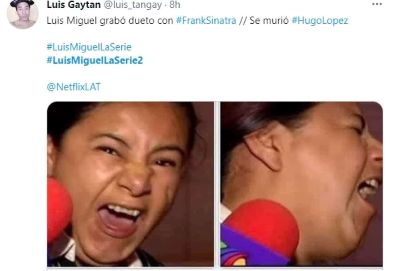 Meme Frank Sinatra muerte Hugo Lopez