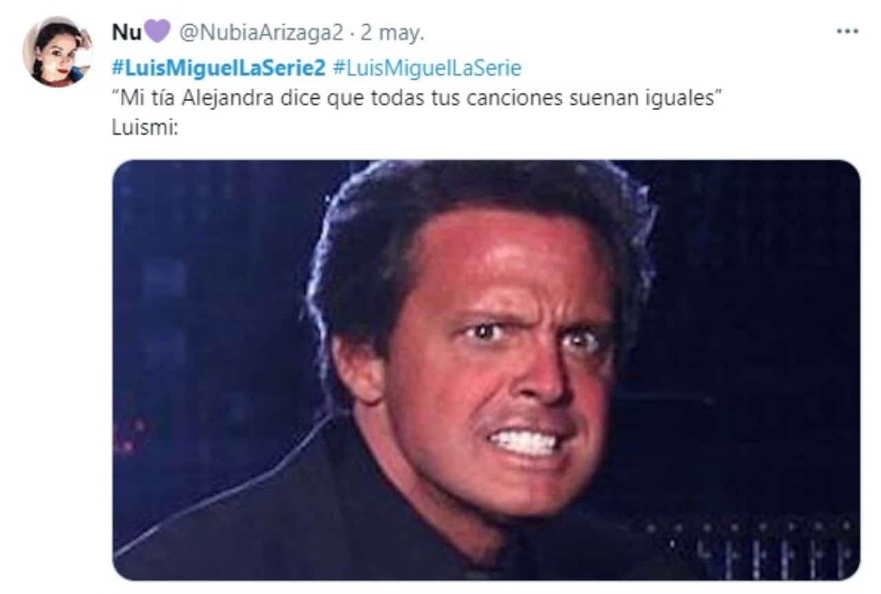 Luis Miguel meme canciones iguales