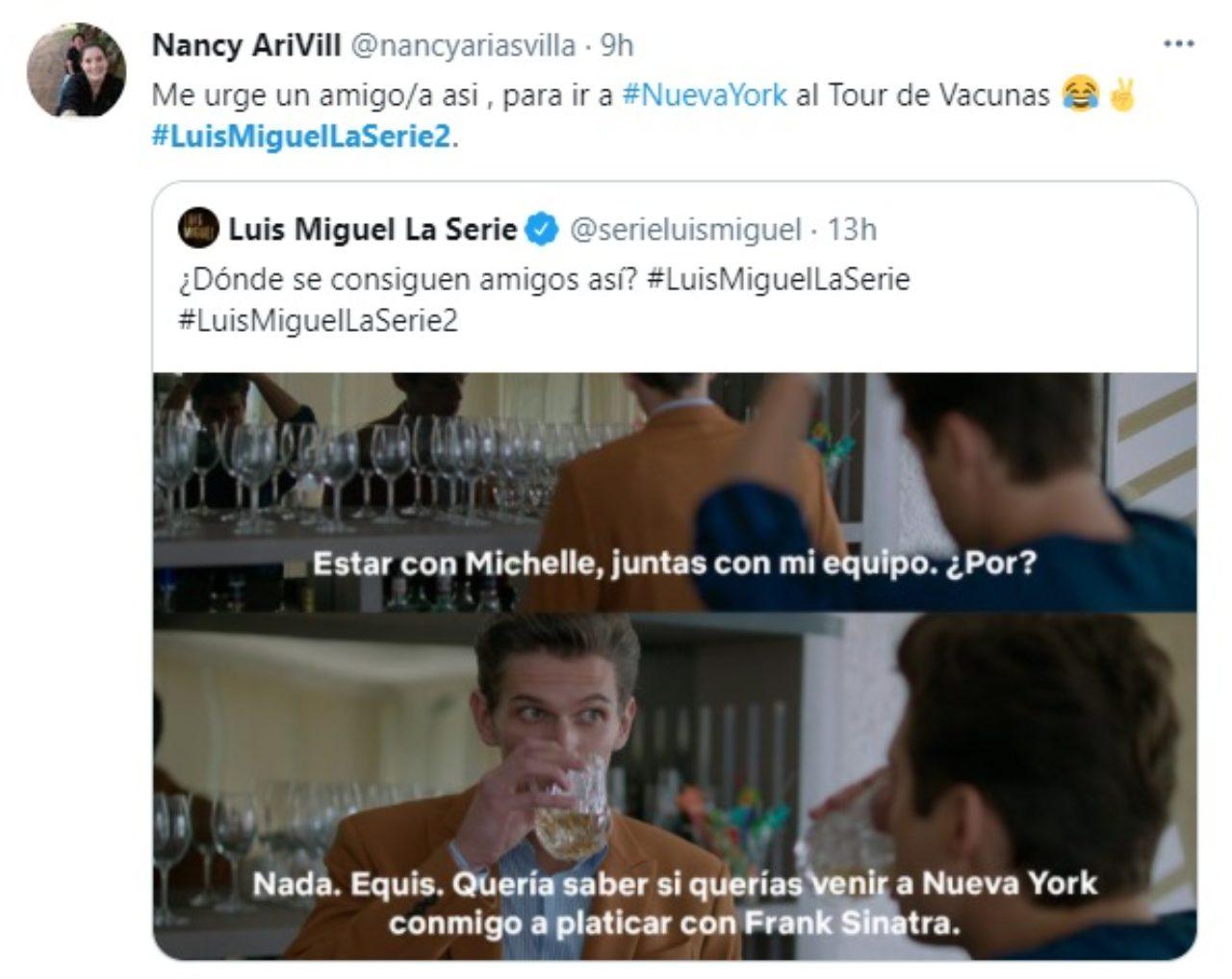 Meme amigos Luis Miguel Miguel Aleman