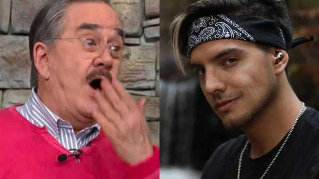 Pedro Sola no se aguanta y le coquetea a Vadhir Derbez en vivo