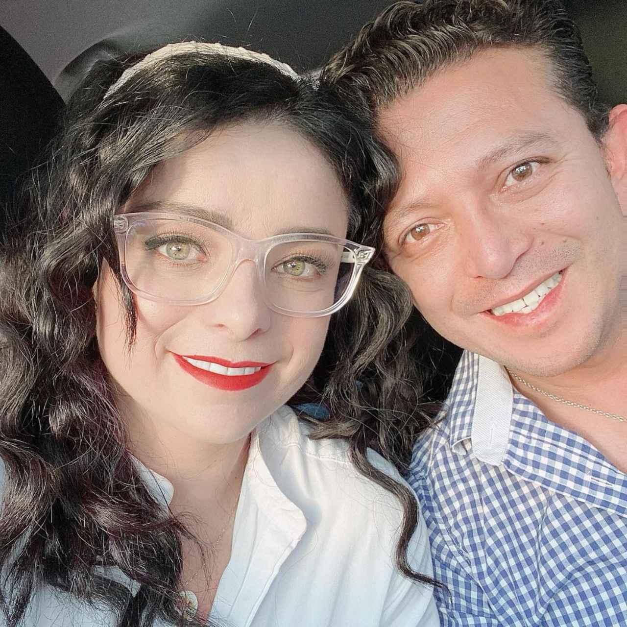 Violeta Isfel y esposo Raul Bernal
