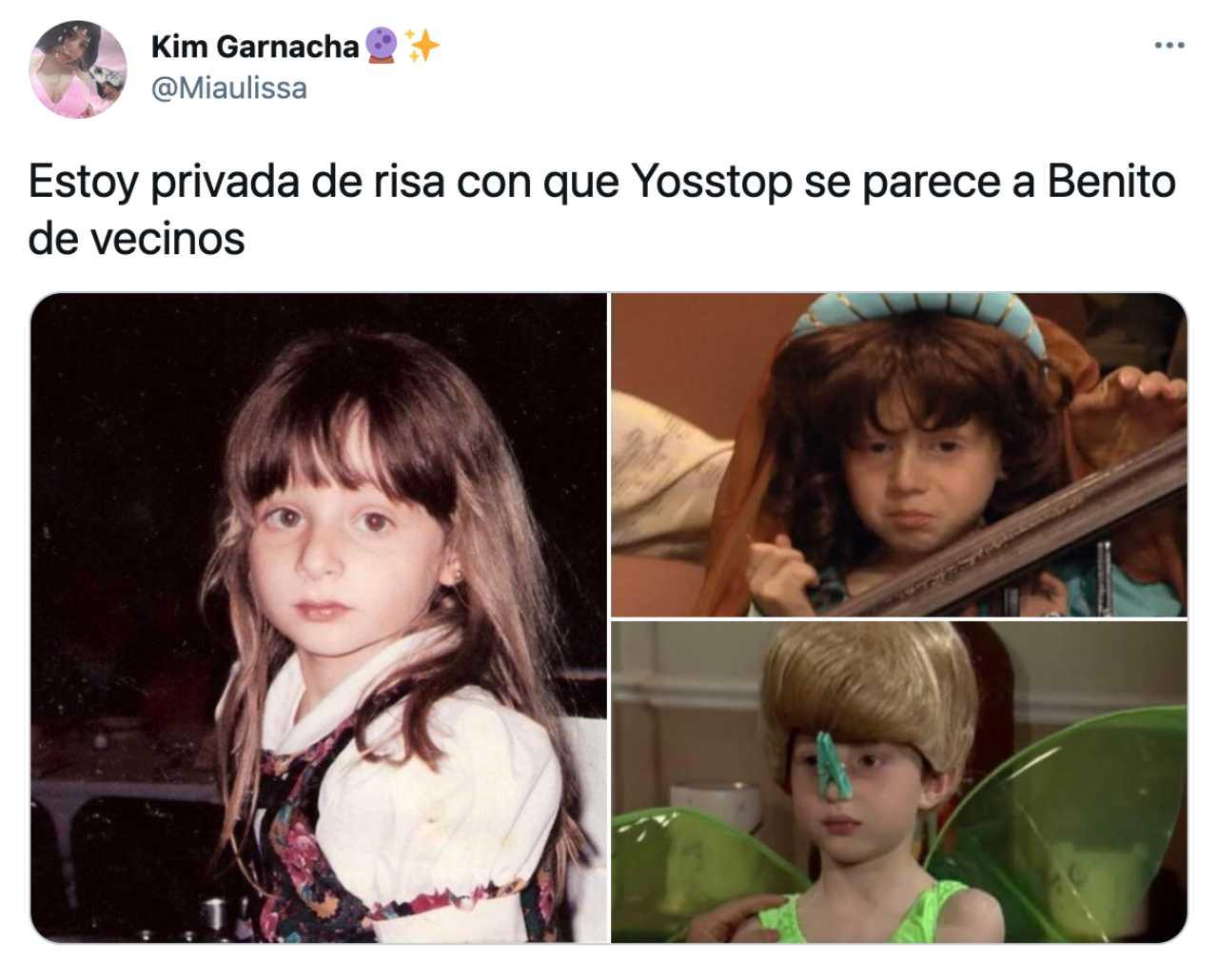 YosStop idéntica a Benito Rivers