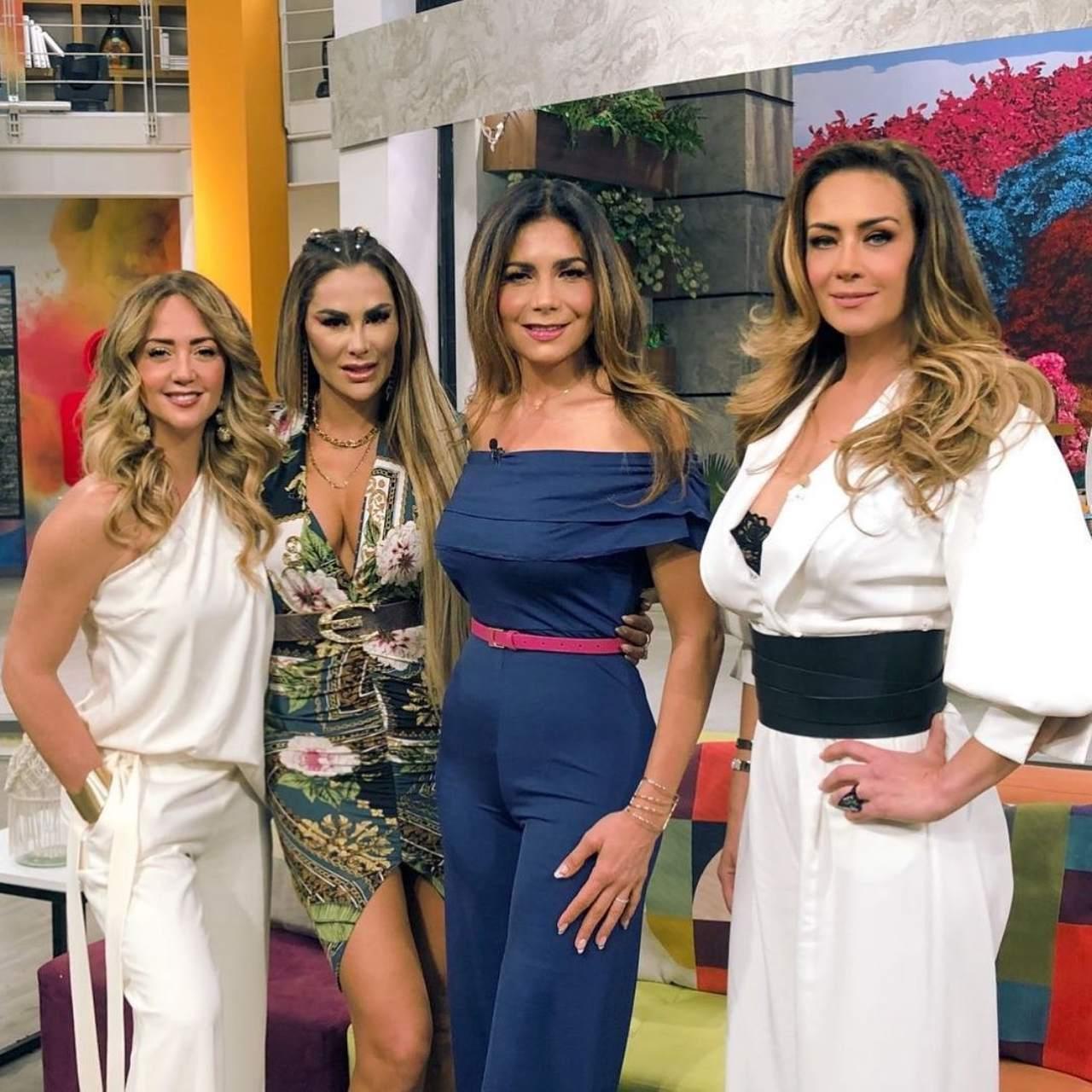 Anette Michel aparece en Hoy con Andrea Legarreta