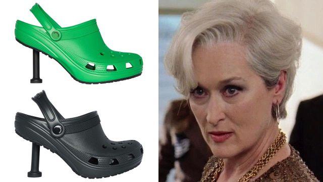 Balenciaga lanza zapatillas de Crocs y definitivamente no entendemos la moda