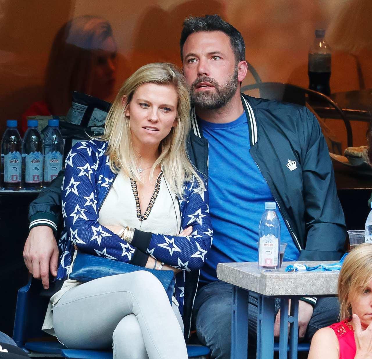 Ben Affleck y su ex Linda Shookus