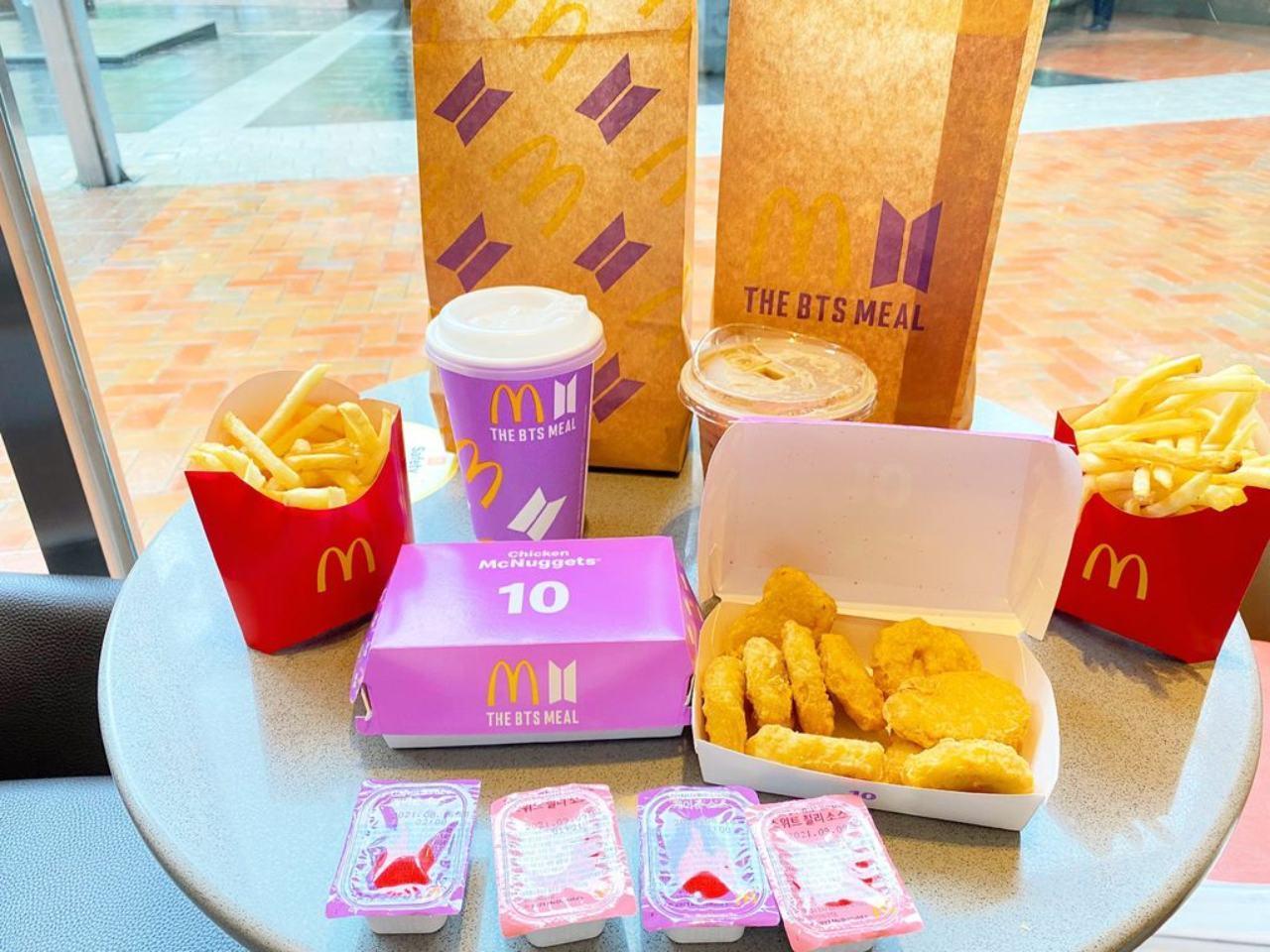 BTS Meal Mexico cuanto cuesta