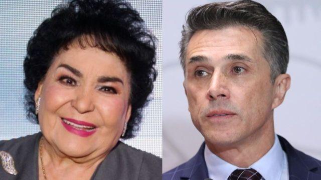 Carmen Salinas se burla de Sergio Mayer por el fracaso de su obra 'Sie7e'