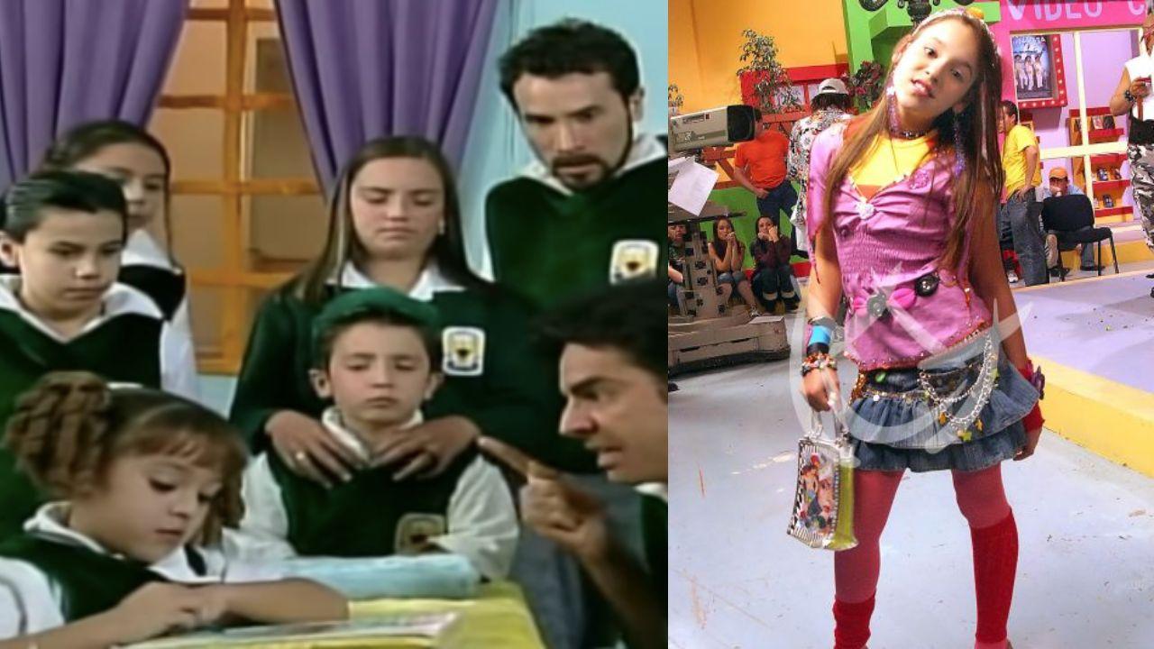 Danna Paola en la hora pico y la familia P. Luche