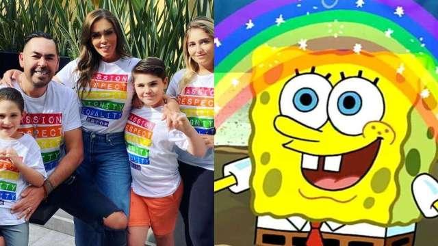 Marichelo Puente y Jorge D'Alessio son criticados por apoyar a la comunidad LGBT+