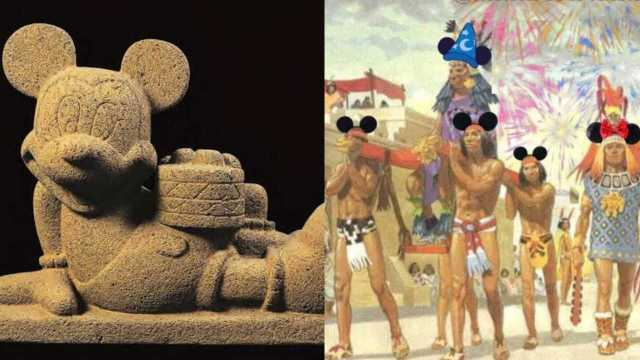 Los memes de Disneylandia-Tenochtitlán para divertirte como AMLO en sus mañaneras