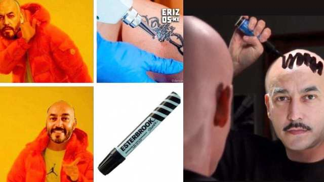Memes del tatuaje tapado de Lupillo Rivera para borrar el recuerdo de ese amargo amor