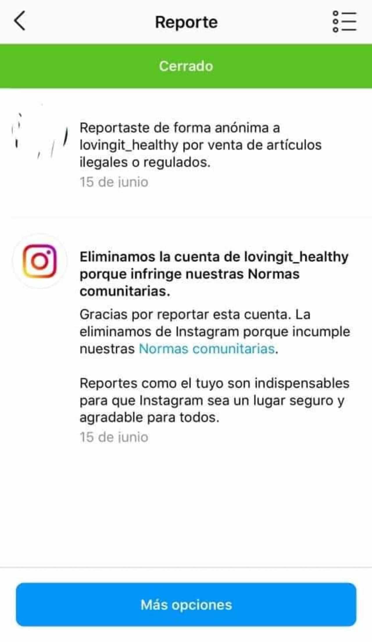 Bárbara de Regil Instagram elimina cuenta proteína