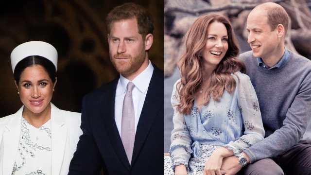 felicitacion Familia Real Meghan Markle Harry