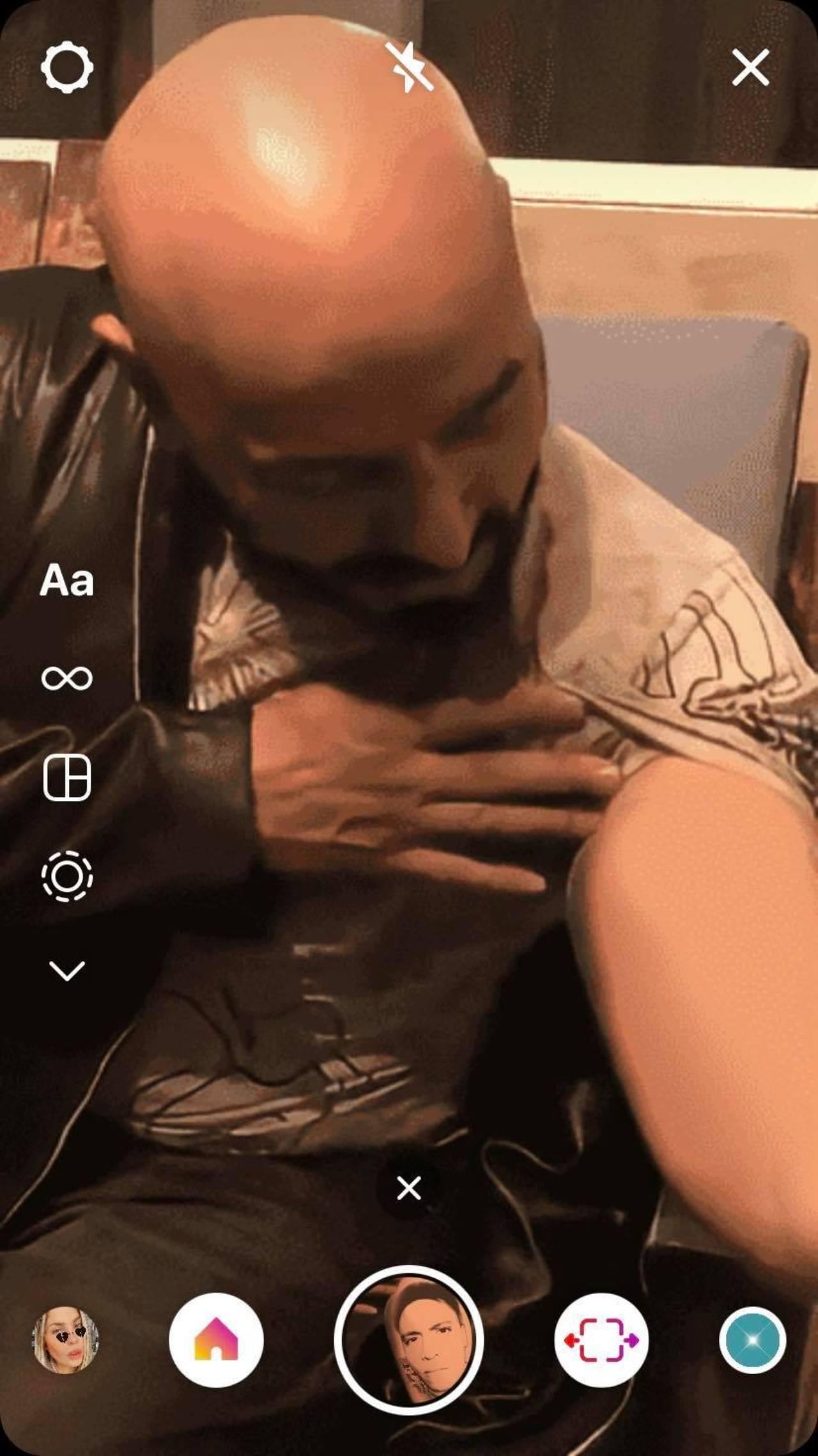 Filtro tatuaje de Lupillo Rivera Belinda