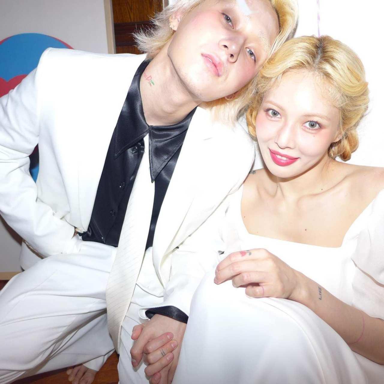 Hyun y Dawm se casaron sin avisar