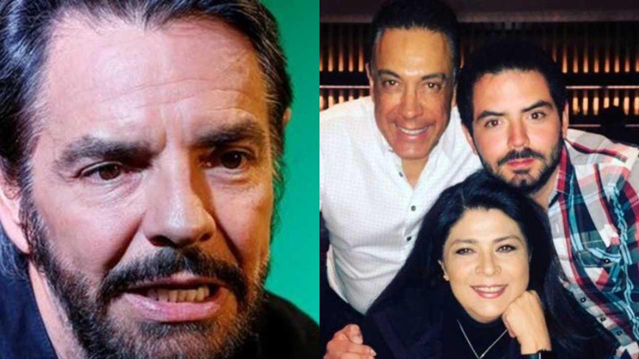 José Eduardo Derbez felicita a Omar Fayad por el día del padre