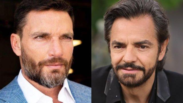 Julián Gil le pide consejos de paternidad a Eugenio Derbez