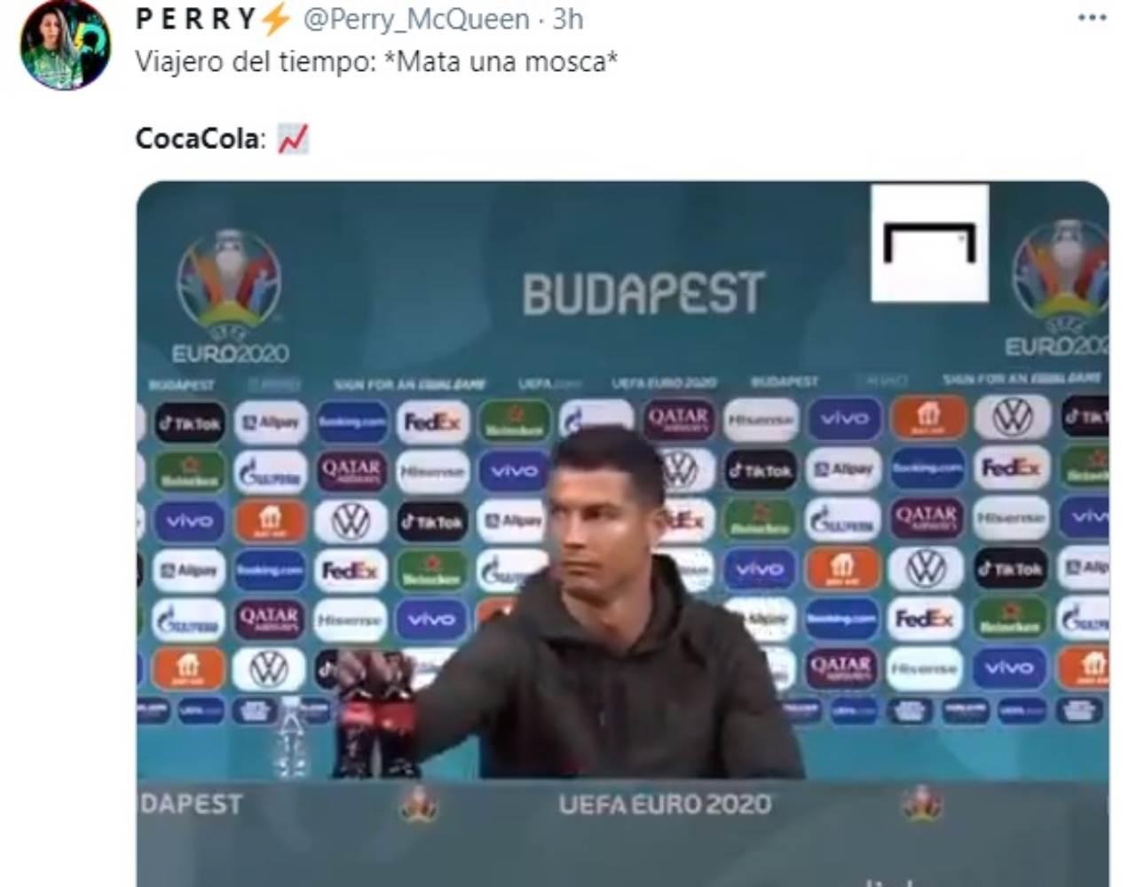 Cristiano Ronaldo viajero en el tiempo