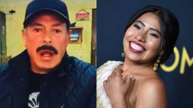 Sergio Goyri vuelve a ser cuestionado sobre Yalitza Aparicio