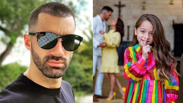 Toni Costa se reencuentra con hija Alaia