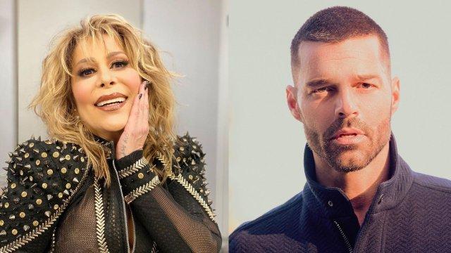 Alejandra Guzman Ricky Martin revela romance