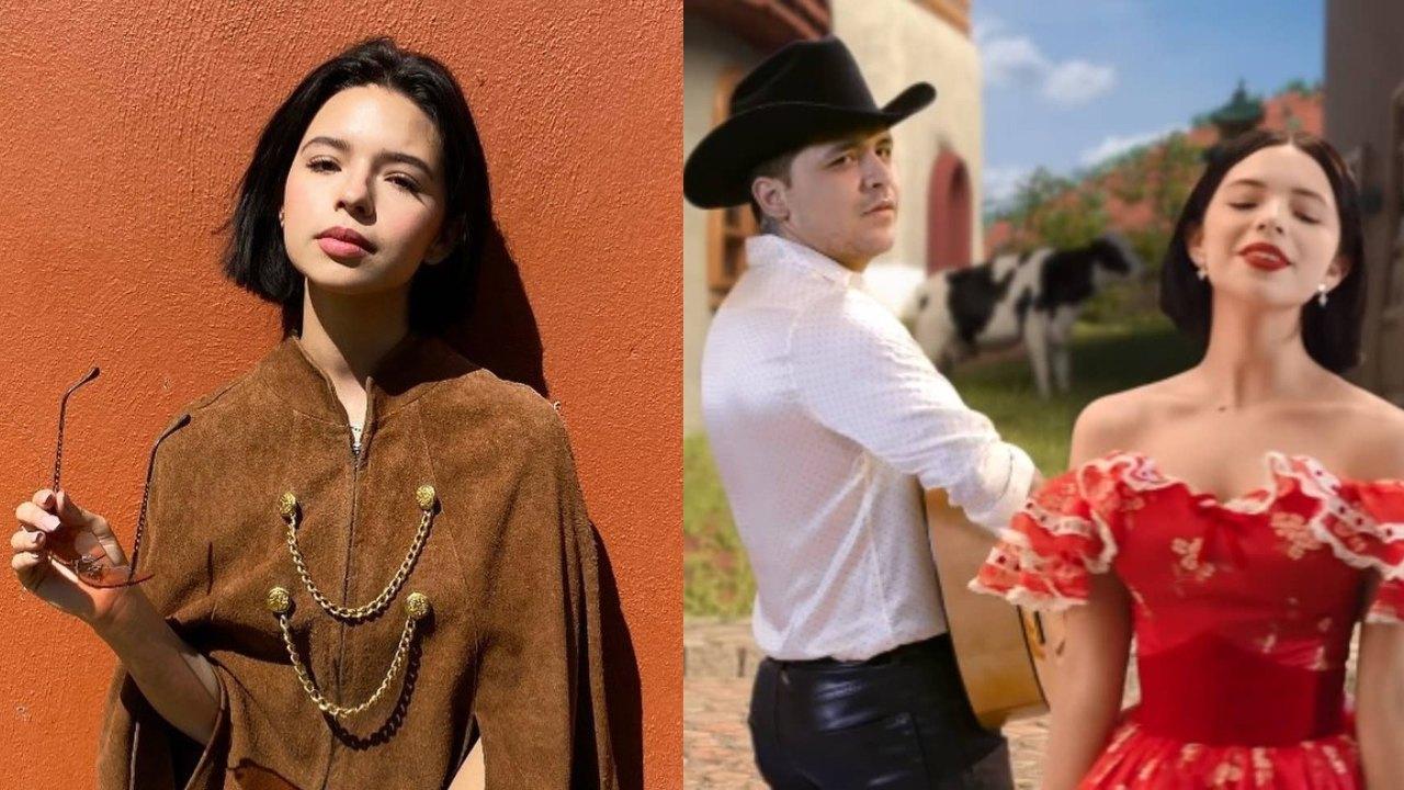Angela Aguilar no quiere cantar Nodal