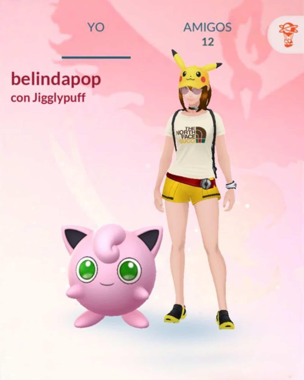 belinda pokemon go favorito es Jigglypuff
