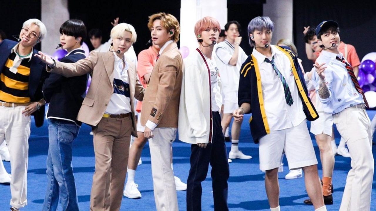 BTS Challenge Permission to Dance