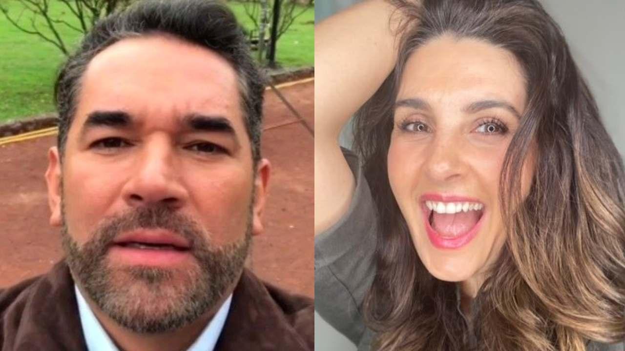 """Eduardo Santamarina reacciona al cuerpazo de Mayrin Villanueva y afirma: """"parece de 19"""""""